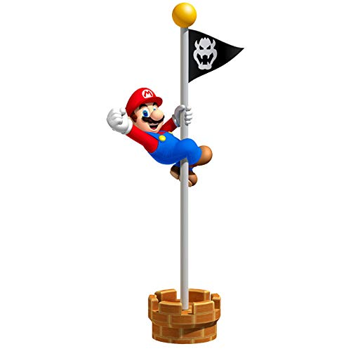Adhesivo para la pared de Super Mario, 62 cm STICKERMAN AHGRD015362