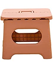 Compact Foldable Stool, Lightweight Plastic Step Stool, Collapsible Stepping Stool for Kitchen Bathroom Bedroom