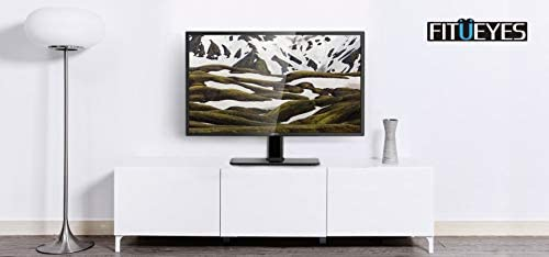 FITUEYES Universal TV Stand//Base Tabletop TV Stand with Mount for up to 50 inch Flat Screen Tvs Vizio//Sumsung//Sony Tvs//Xbox One//tv Components Max VESA 400x400 TT104201GB