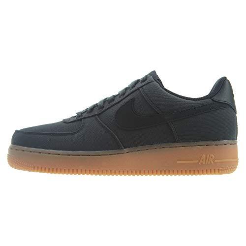 Nike Air Force 1 '07 LV8 Style Unisex/Men's Shoes Black/Black/Gum-Brown aq0117-002 (8 D(M) US)