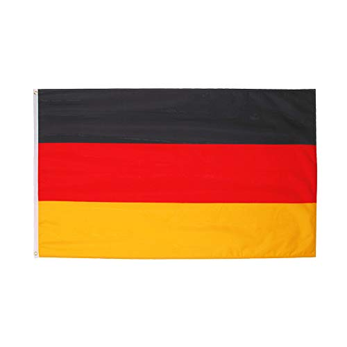 3x5 Fts Black Yellow Red Deutschland Germany Flag -
