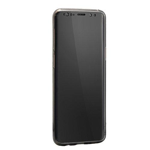 Sunroyal Funda Samsung Galaxy S9 PLUS 6.2 Carcasa Protectora 360 Grados Full Body TPU Gel Transparente Ultra Slim Case Cover Protección Completa Doble Smartphone Móvil Accesorio Sleeve [Resistente a  Modelo 10
