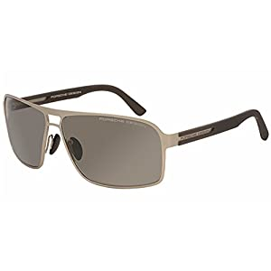 Porsche Designs Sunglasses P8562 B Gold Gray Gray 66 12 130