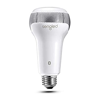 Sengled Bulb with Bluetooth Speaker, App Controlled Smart Bulb Color Changing Compatible with Amazon Alexa