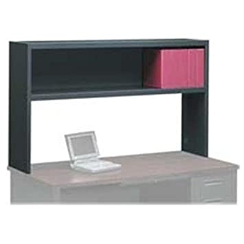 Hon Stack-On Storage Hutch - 66 by 13-1-2 by 36-1-4-Inch - Charcoal