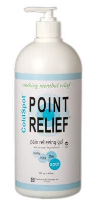 FEI 11-0711-16 Point Relief Cold Spot Topical Analgesic Lotion, Gel Pump Bottle, 32 oz. Volume (Pack of 16) by Eif