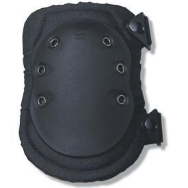 Ergodyne ProFlex 335 Slip Resistant Rubber Cap Knee Pads, Black, Buckle Closure