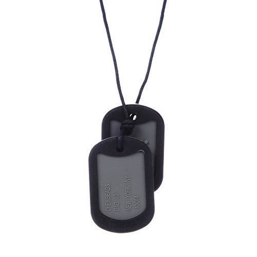 Chewbeads Dog Tag - Adult - Black