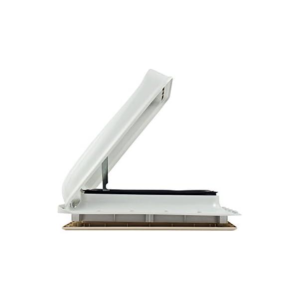 31hzPPHlgSL Fiamma Dachfenster Vent 40x40 cm Weiß + Dekalin Dichmittel + Schrauben für Wohnwagen oder Wohnmobil