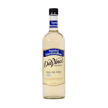 DaVinci Gourmet Sugar-Free Toasted Marshmallow Beverage Syrup (750 ml) by Europe Standard