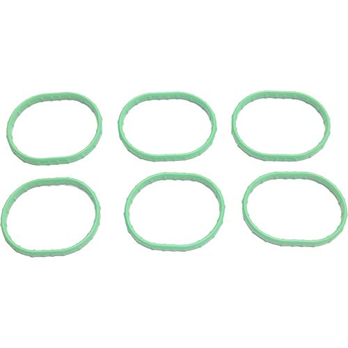 Intake Manifold Gasket compatible with Ranger 01-11 / Explorer Sport Trac / B4000 01-10 Set 6 Cyl 4.0L