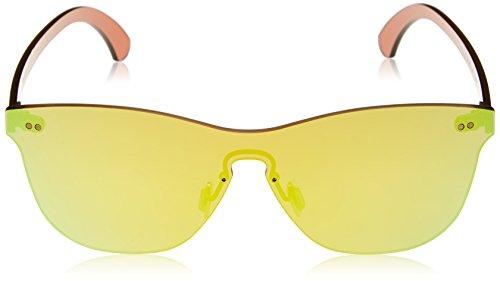 Lenoir Eyewear LE25.5N Lunette de Soleil Mixte Adulte, Or