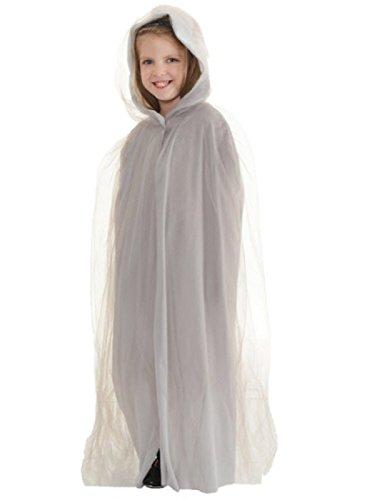 White Witch Narnia Costume (Children's Ghost Cape Costume)