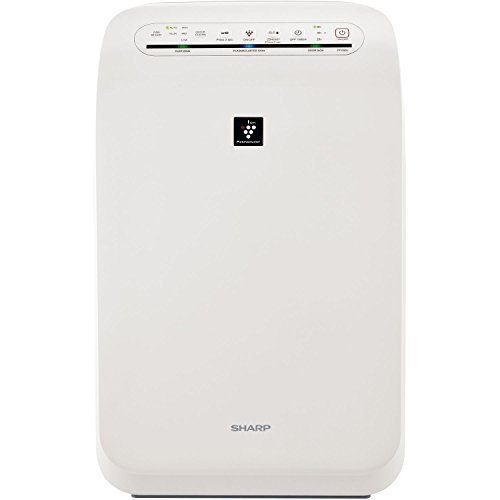 Sharp FPF60UW Plasmacluster Ion Air Purifier with True HEPA Filter by SHARP