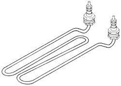Heating Element for National Appliance NAH004 by Replacement Parts Industries RPI