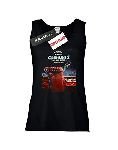 Mujer Gremlins Mangas Negro Sin Camiseta Batch New 2 The F56q5O