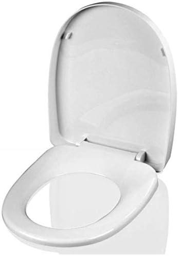 IVHJLP 抗菌PPボードと便座が超耐性トップミュートUは大人の便座のためにトイレの蓋形状マウントスローダウン、-41.5〜43.5センチメートル* 34センチメートル
