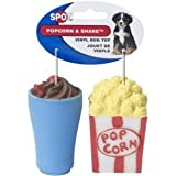Ethical Pet Products (Spot) DSO5744 2-Pack Vinyl Popcorn and Shake Dog Toy For Sale