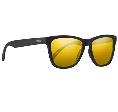 NECTAR Polarized Sunglasses for Men & Women with UV Protection | Over 20 Styles (Black Frame | Gold Amber EuphoricHD Polarized - Bee Gold Sunglasses