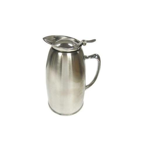 Winco VSS-508 Stainless Steel Lined Beverage Server, 20-Ounce, Satin Finished, Set of 12