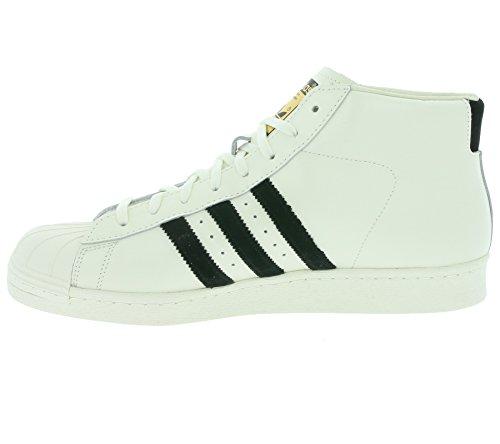 adidas Sneaker Alta Pro Model Vintage DL Bianco/Nero EU 46 (UK 11)