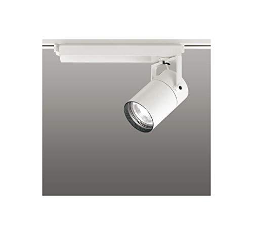 ODELIC LEDスポットライト 配線ダクトレール用 CDM-T70W相当 オフホワイト 61° 温白色 3500K 専用調光リモコン対応(リモコン別売) XS511121BC   B07RW8HHBJ