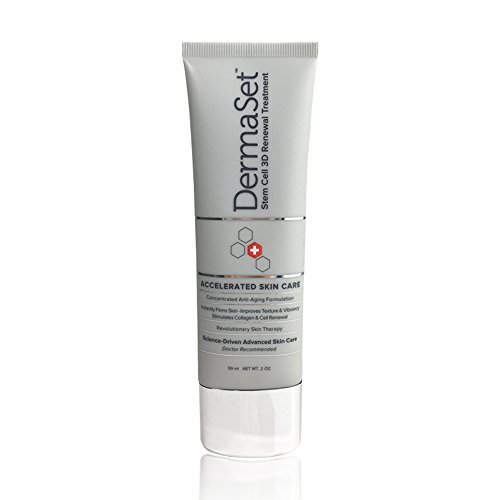 Price comparison product image Dermaset 3D Renewal Stem Cell Anti Aging All in One Cream - Clinically Tested and Hypoallergenic Formula