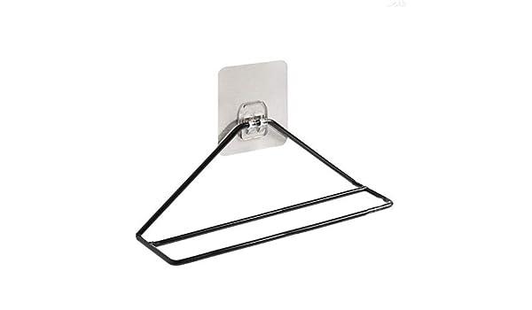 Casa de Hierro Forjado Simple Zapatero triángulo montado en la Pared Zapatero triángulo 22.5 * 6 * 8.5cm: Amazon.es: Hogar
