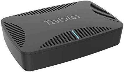 Tablo Quad [TQNS4B-01-CN] Over-The-Air [OTA] Digital Video Recorder [DVR] for Cord Cutters - with WiFi, Live TV Streaming, & Automatic Commercial Skip, Black