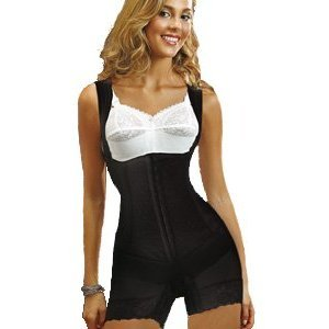 37b3f53f093 Ardyss Extra Firm Control Body Magic Bodysuit in Black  Amazon.co.uk   Clothing