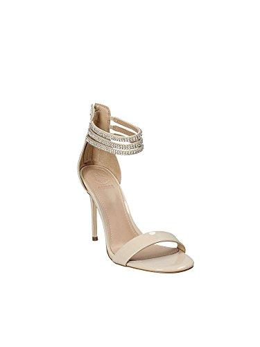 Tacco Dress Con Cinturino Guess Scarpe Footwear Caviglia Col La Dietro Beige Sandal Donna gXnS6nw