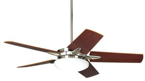 "60"" Casa Endeavor Brushed Nickel Finish Ceiling Fan"