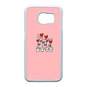 Custom Phone Case with TELEPHONE Image On The Back Fit To Samsung Galaxy S6 Edge