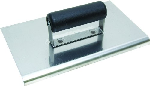 QLT By MARSHALLTOWN CE566SP 9-Inch x 4-Inch Stainless Steel Edger; 1/2-Inch Radius, 5/8-Inch Lip-Plastic Handle by Qlt By Marshalltown