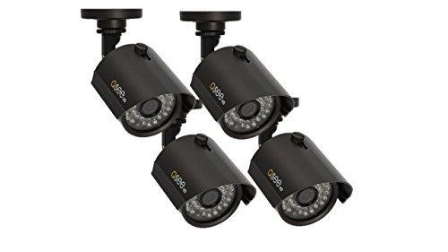 Q-See QTH7211B-4 720p BNC HD Bullet Camera 4 Pack with 100' Night Vision (Black) [並行輸入品] B01N5LELS4