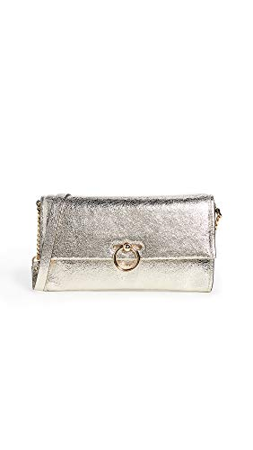 (Rebecca Minkoff Women's Jean Convertible Clutch, Champagne, Gold, Metallic, One Size)