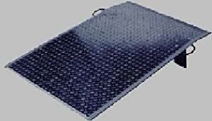 Vestil Mfg. Co., Aluminum Dock Plate With 1/4 In Thickness And 500# Cap, Ves-A3624, Width: 36, Length: 24, Hgt Diff: 3, Ships Ups ?: Yes, Weight: 39, Ves-A3624