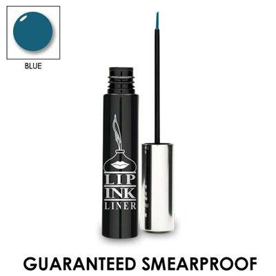 LIP INK 100% Smearproof Waterproof Natural Liquid Eyeliner - Blue