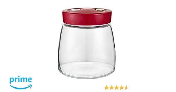 Tarro de fermentación con válvula de liberación de aire, 1 litro ...