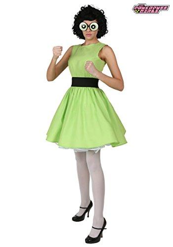 Buttercup Powerpuff Girl Costume - (Powerpuff Girl Costumes Adults)