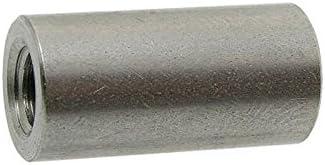 Rund-Muffen A2 M 10X40 d=13 Gewindemuffen rund-A2 10 Stk