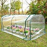 Chonlakrit 7'x3'x3' Greenhouse Mini Portable Gardening Flower Plants Yard Hot House Tunnel
