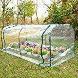 Chonlakrit 7'x3'x3' Greenhouse Mini Portable Gardening Flower Plants Yard Hot House Tunnel by Chonlakrit