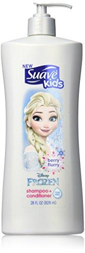 Suave Kids Shampoo & Conditioner Disney Frozen Elsa Berry Flurry, 28 Ounce
