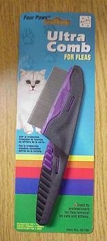 Four Paws Ultimate Touch Cat Grooming Flea Comb