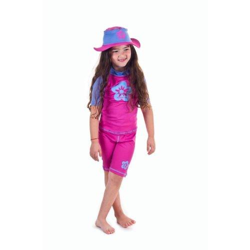 Girls Size L Sun Uv Protective Beach Safari Swim Hat for Kid
