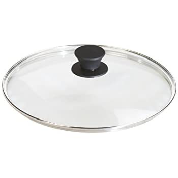 Lodge Tempered Glass Lid (10.25 Inch) - Fits Lodge 10.25 Inch Cast Iron Skillets and 5 Quart Dutch Ovens