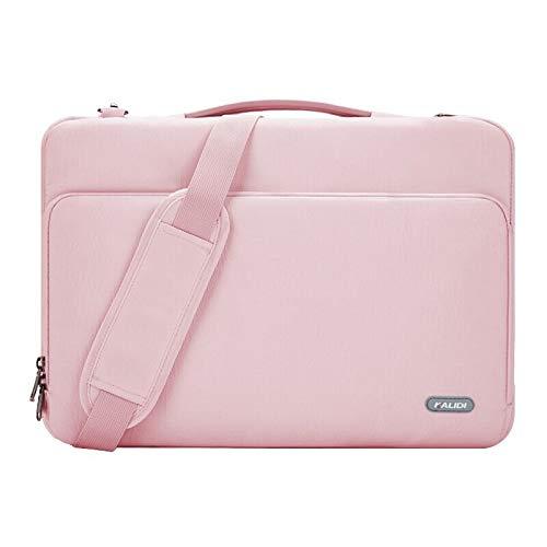 KALIDI Shoulder Bag, 15.6 Inch Laptop Briefcase Messenger Bag for Dell Alienware/MacBook/Lenovo/HP, Travelling, Business, College and Office