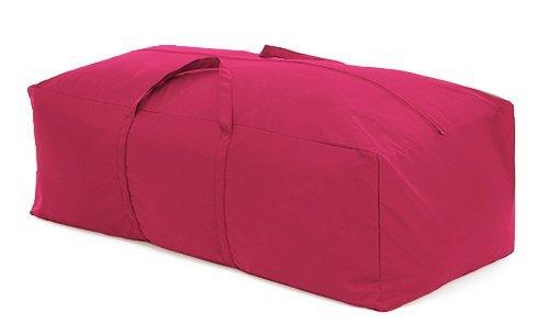 Gardenista PINK Outdoor Garden Cushion Storage Bag in Premium Heavy Duty Waterproof Canvas. Made in the UK.