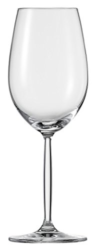 (Schott Zwiesel Tritan Crystal Glass Diva Living Stemware Collection, 10.2-Ounce, Riesling, White Wine Glass, Set of 6)